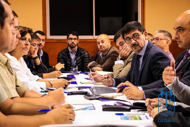 Se realizó la primera convocatoria del Consejo Comunal de Seguridad Pública de Las Cabras