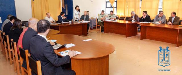 Se realizó la primera Sesión Ordinaria del Consejo de Seguridad Pública en Las Cabras