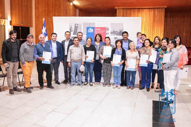 14 nuevos subsidios fueron entregados en Las Cabras
