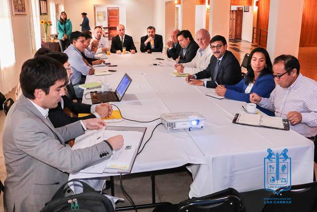 Primera reunión del Comité Ejecutivo de la ZOIT se realizó en Las Cabras