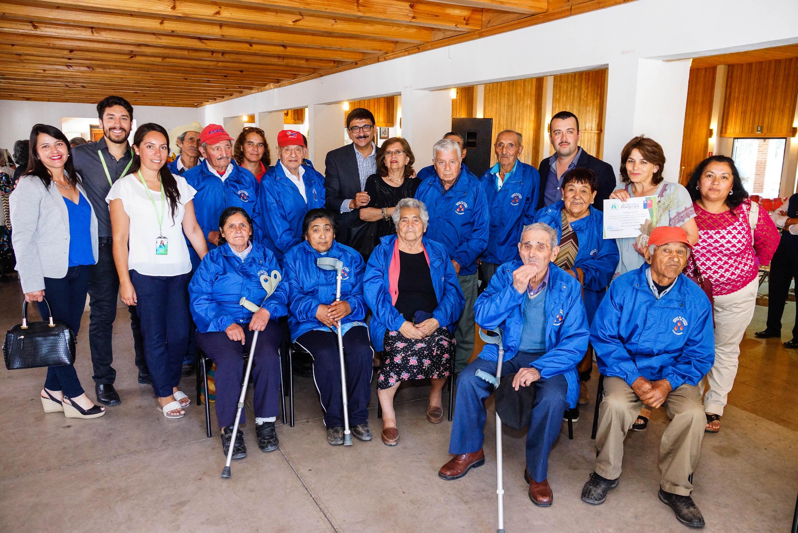 Programa Más Adultos Mayores Autovalentes Realizó Actividad De Cierre