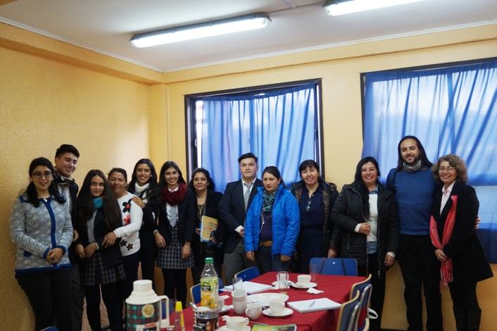 Reunión mesa Educativa  en Temáticas de Prevención