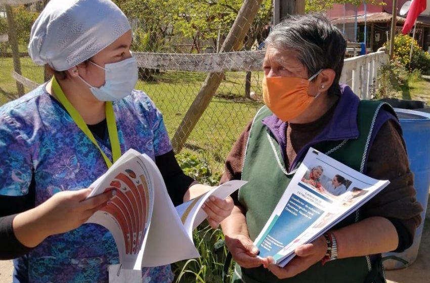 """Programa """"Mas Adultos Mayores Autovalentes"""", reanuda la atencion durante la pandemia."""