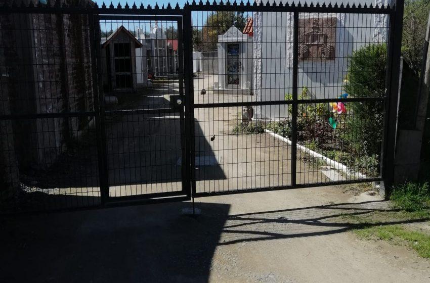 Apertura Cementerios Comunales