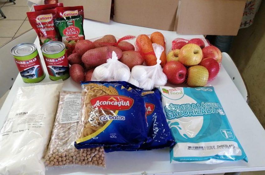Programa de alimentación escolar de JUNAEB en Las Cabras