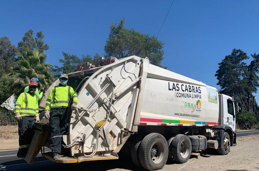 Municipio hace un llamado para cuidar al personal de recolección de residuos Domiciliarios