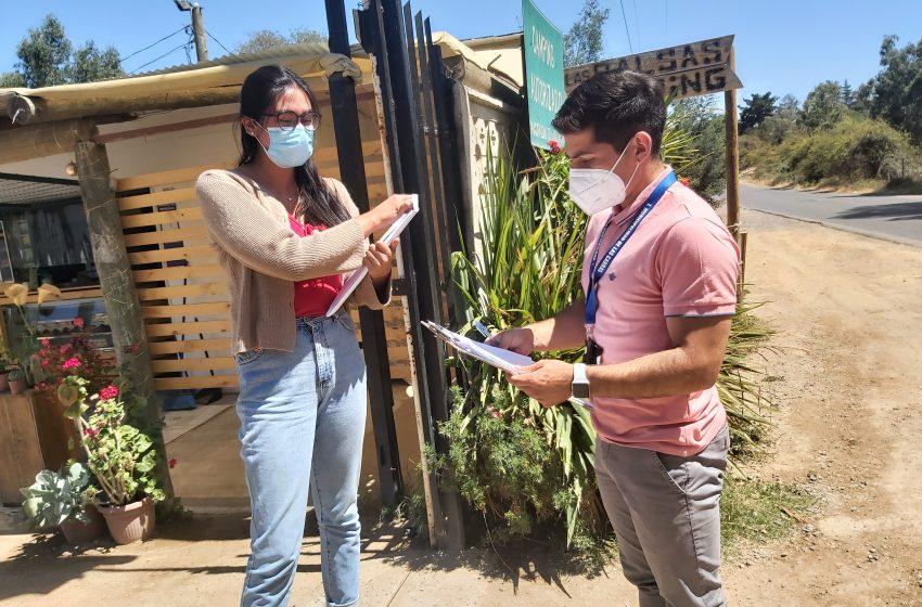 Visita a establecimientos turísticos de Las Cabras (por cambio de normativa en paso 2 de transición)